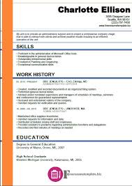 Resume Templates For Administrative Assistant Admin Assistant Resume Template Free Resume