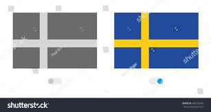 Sweden Flag Image Outline World Flag Sweden Stock Vector 680155942 Shutterstock