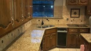 Backsplash With Venetian Gold Granite - new venetian gold kitchen granite countertop surplus building