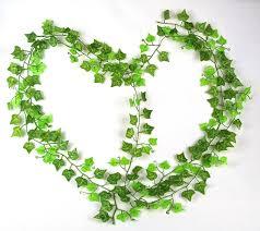 7 87ft artificial boston green vine leaf garland