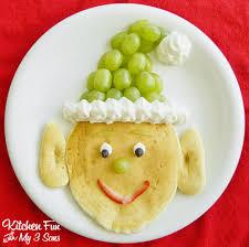 santa u0027s elf pancakes for a fun christmas breakfast christmas