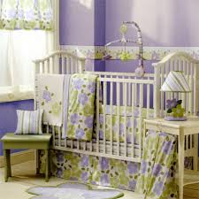 Purple Nursery Bedding Sets Bedroom Baby Bedding Sets Welcoming New Family With The Best