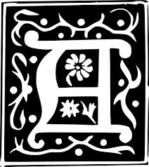 decorative letter set a clip art at clker com vector clip art