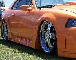 1999 mustang cobra performance parts 99 04 mustang spider x9 cobra side skirts passenger driver