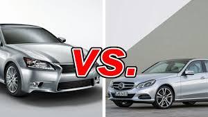lexus g350 mercedes e350 vs lexus gs 350 carsdirect