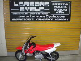2017 honda crf50f for sale in cambridge mn larson u0027s cycle inc