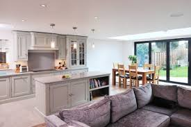 kitchen sofa furniture awesome combination of dining living and kitchen to be amazed by
