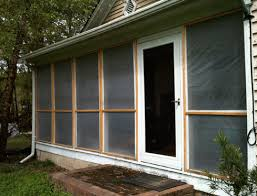 how to keep bugs away from porch the screened porch with frames attached for passive solar advantage