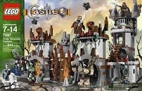 Build A Small Castle Amazon Com Lego Castle Trolls U0027 Mountain Fortress 7097 Toys U0026 Games