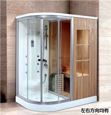 sauna glass doors steam shower sauna combos steam shower sauna combos suppliers and