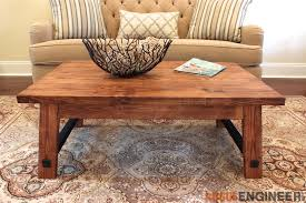 Plans For Wooden Coffee Tables by Angled Leg Coffee Table Free Diy Plans Rogue Engineer