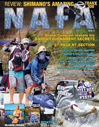 Australian Woodworking Magazine Subscription by National Australian Fishing Annual Nafa Magazine 33