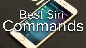 best siri commands youtube