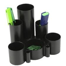 Desk Tidy Set Italplast Green R Desk Tidy Black Officeworks