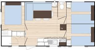 mobil home o hara 3 chambres location o hara o phéa 834 3 chambres normandie camping