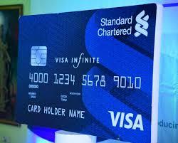 kumasi standard chartered bank unveils visa infinite and visa