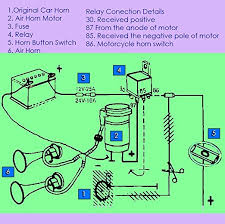 air horn relay diagram efcaviation com