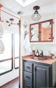 best ideas about bathroom pinterest cheap kitchen could you live less than square feet see how this outdated motorhome was
