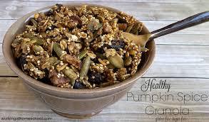 Skinnytaste Pumpkin Pie by Healthy Pumpkin Spice Granola