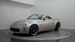 nissan convertible white 2007 nissan 350z convertible youtube