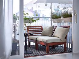 outdoor and patio small balcony garden ideas combined with corner