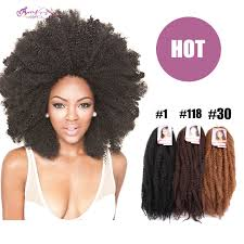 crochet braiding hair for sale hot sale afro kinky curly marley kanekalon braiding hair