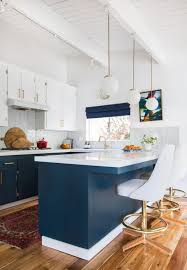 blue modern kitchen cabinets our home a look back and house tour emily