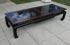 modern ming style coffee table