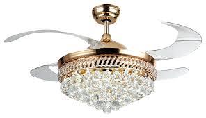 Ceiling Fan Chandelier Combo Ceiling Fan Crystal Bead Candelabra Antique White Ceiling Fan