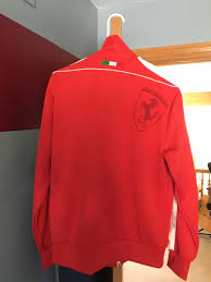 ferrari clothing red puma ferrari track jacket with tag in west chicago letgo