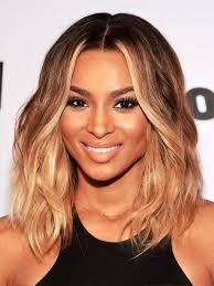 mid length thin hairstyles for black women medium length