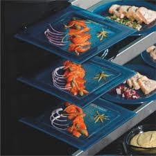 buffet presentation equipmenttiger glass