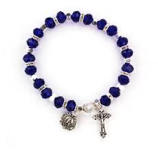 birthstone rosary september birthstone rosary bracelet br815c
