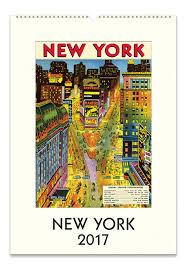 cavallini calendars cavallini 2017 new york wall calendar 2017 calendars