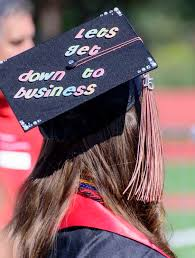 graduation caps decorations ten amazing business graduation cap decorations that will inspire you
