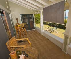 6ft window roller sun shade blind roll pull up exterior patio
