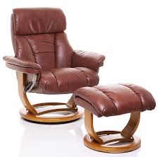 Swivel Chair Leather by The Mars Genuine Leather Recliner Swivel Chair U0026 Matching