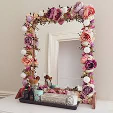 Decorated 16 Fab Diy Mirrors You Can Easily Make Yourself Decorate Mirror