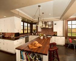 brick backsplash in kitchen innovative design brick backsplash for kitchen brick stacked