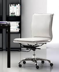 white office chair armless armless swivel desk chair underthebluegumtree com