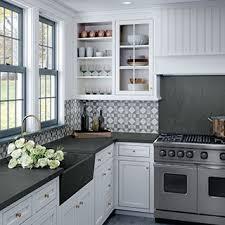white kitchen cabinets soapstone countertops soapstone slab