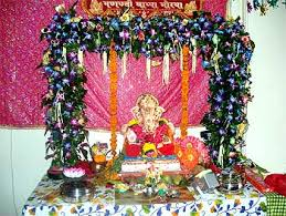 Home Ganpati Decoration How To Decorate Home For Ganesh Chaturthi U2013 Interior Designing Ideas
