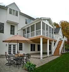 patio enclosed porch ideas ranch home the screen porch is light