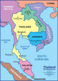 South Asia Physical Map by Map Of Southeast Asia Vietnam War You Can See A Map Of Many