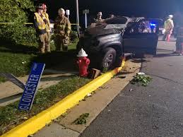 Gloucester Single Vehicle Rollover On Gloucester Ashburn Volunteer Fire And