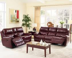 Burgundy Living Room Furniture by Boulevard Burgundy Power Glider Recliner From New Classic