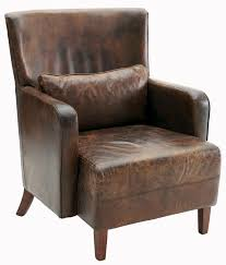 Home Interiors Stockton Leather Arm Chair U2013 Helpformycredit Com
