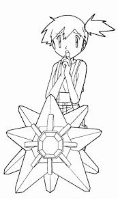pokemon coloring pages misty pokemon coloring pages color book