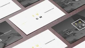 7 clean free business card mockup thomsoon