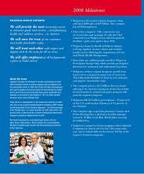Prime Therapeutics Pharmacy Help Desk Walgreen2008 Annual Report